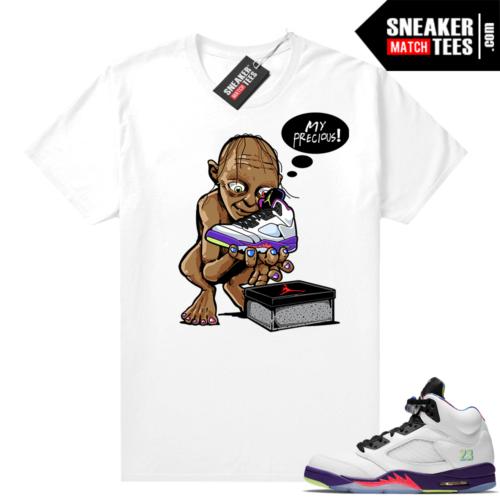 Sneaker Match Bel Air 5s Alternate Shirts