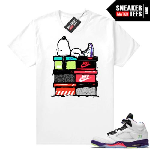 Alternate Bel Air 5s matching t-shirts