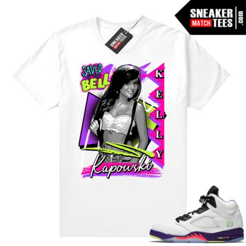 Jordan Bel Air 5s Matching shirts