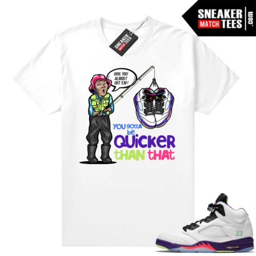 Sneaker match Bel Air 5s Shirts