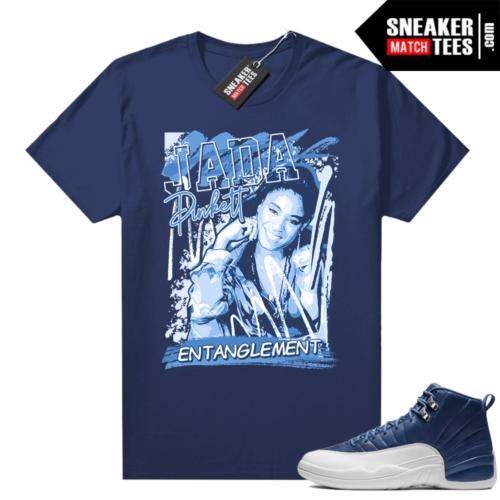 Jordan retro 12 Indigo shirts to match