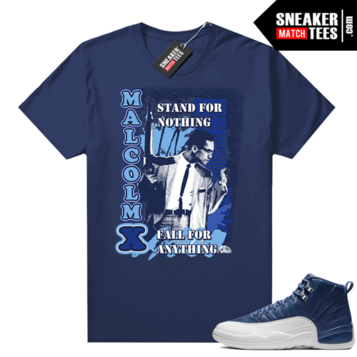 Sneaker shirt to match Jordan retro 12 Indigo