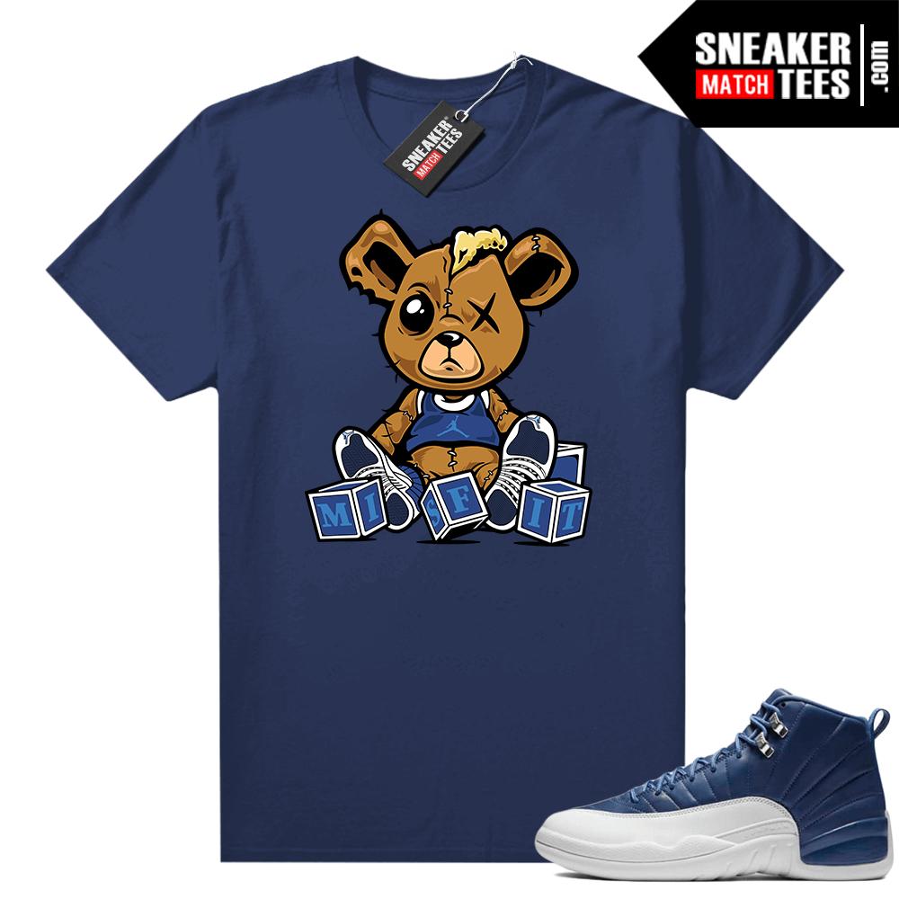 Jordan 12 Indigo sneaker tee