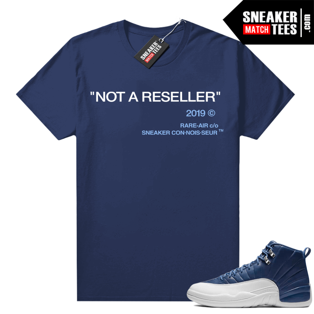 Sneaker shirt to match Indigo 12s
