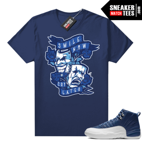 Sneaker tees to match Indigo 12s