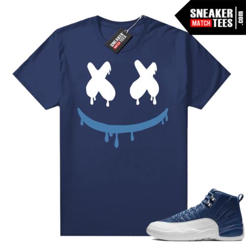 Retro 12 Indigo shirts to match