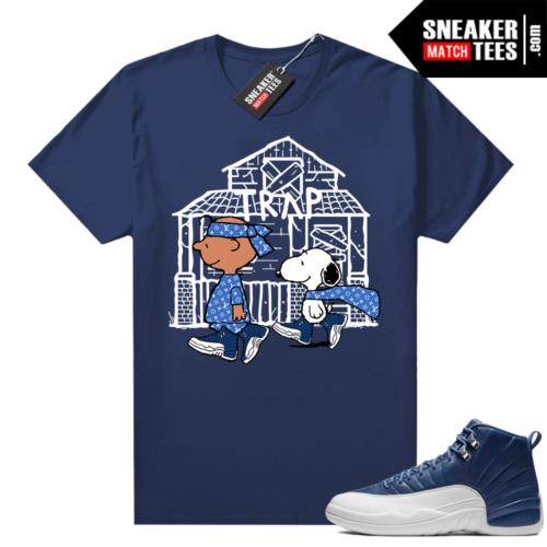 Air Jordan 12 Retro Indigo sneaker tees