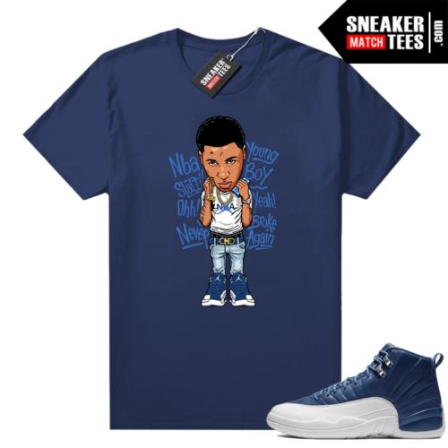 Jordan retro 12 Indigo shirts