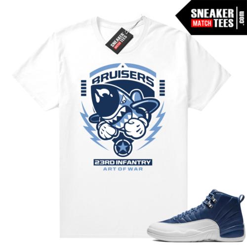 Indigo 12s match shirts