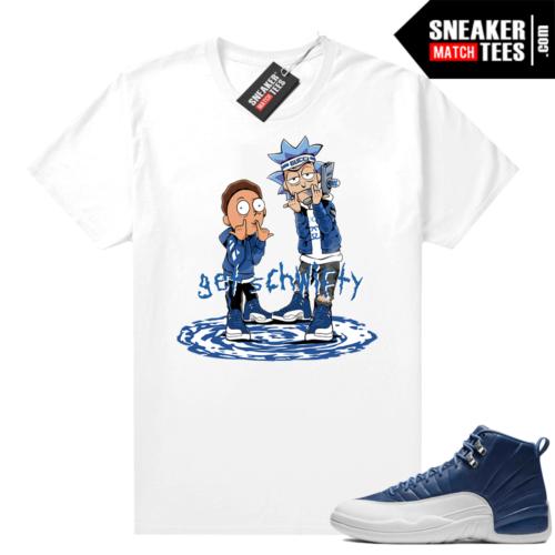 Shirts to match Indigo 12s