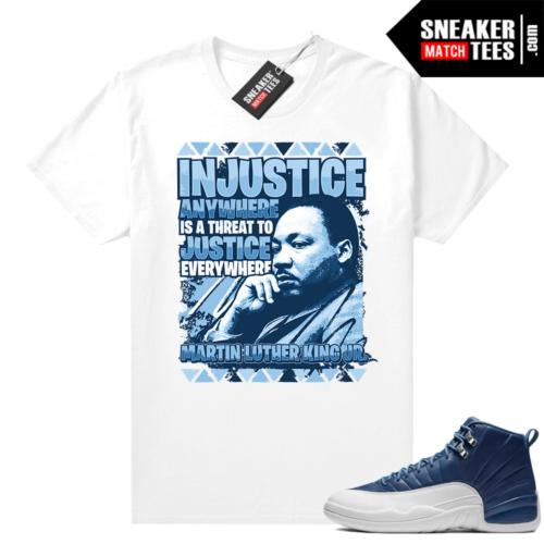 Indigo 12s matching shirts