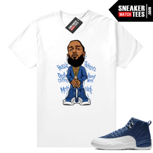 Sneaker Match Jordan 12 Indigo