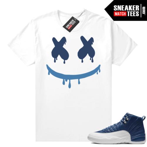 Air Jordan 12 shirts Indigo