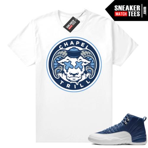Indigo 12s shirt outfit