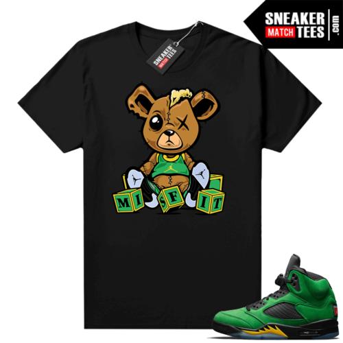 Jordan 5 Oregon matching shirt
