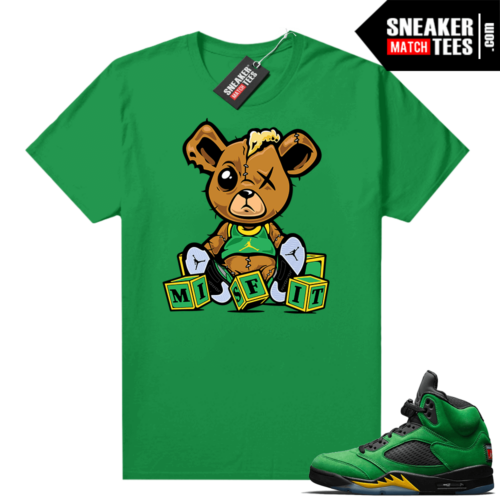 Jordan 5 Oregon shirts