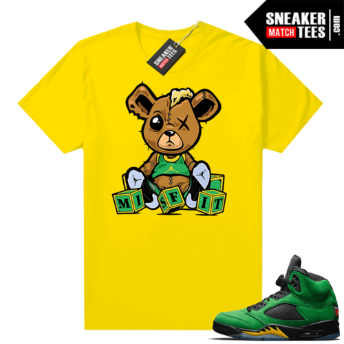 Jordan 5 Oregon sneaker tees shirts