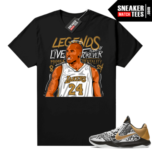 Kobe V Protro Big Stage shirt outfit