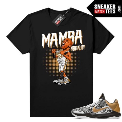 Kobe V Protro Big Stage shirt to match