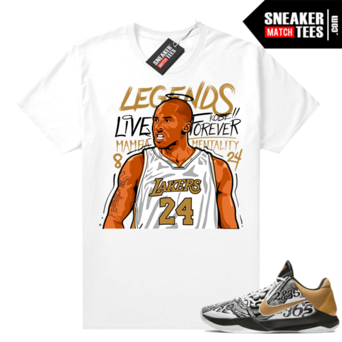 Kobe V Protro Big Stage shirts to match sneakers