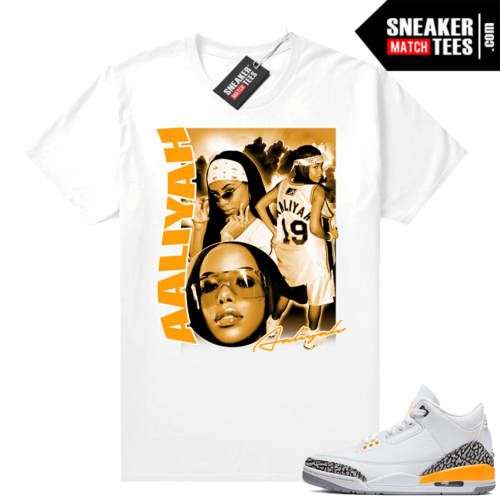 Laser Orange 3s shirt to match