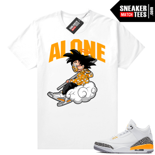 Laser Orange 3s matching sneaker tees