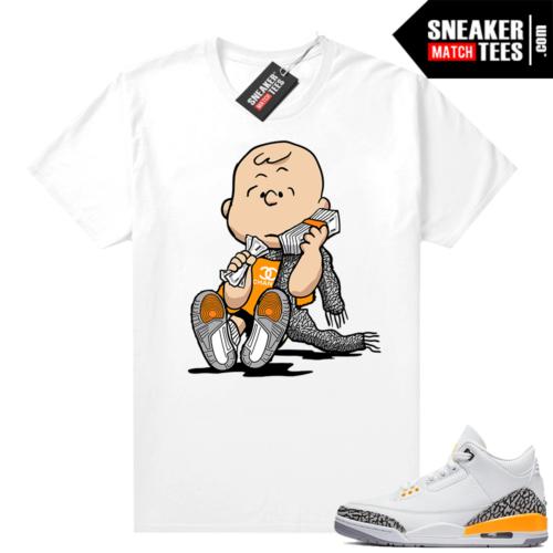 Jordan 3 Laser Orange shirt