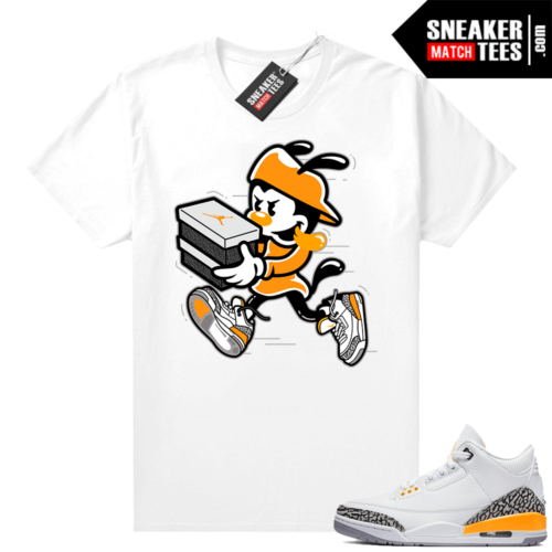Jordan 3 Laser Orange Sneaker tees