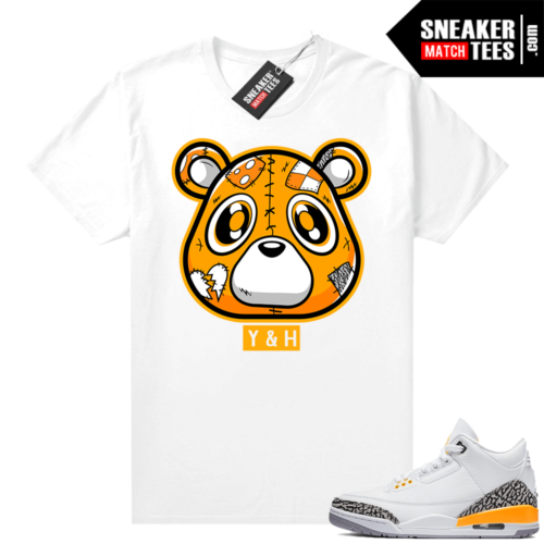 Laser Orange 3 Jordan match tees