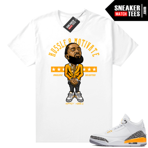 Shirts to match Jordans 3 Laser Orange