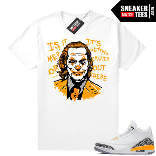 Sneaker Match Jordan Laser Oranges