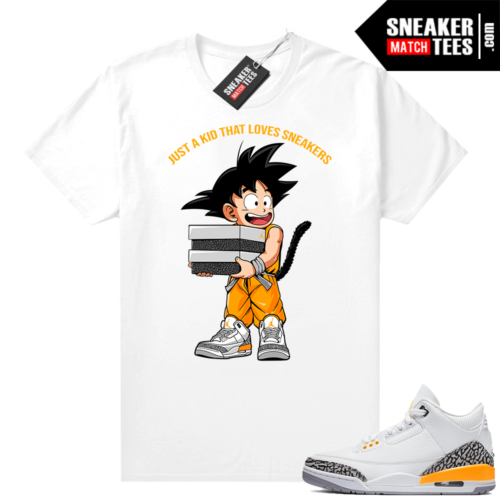 Sneaker Match Jordan 3 Laser Orange tees