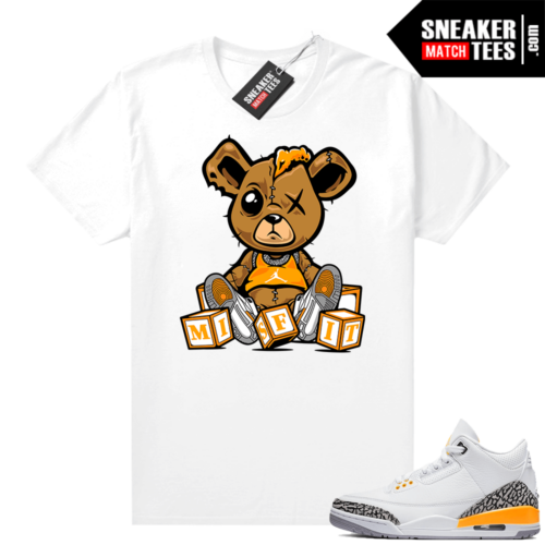 Jordan sneaker tees Laser Orange 3s