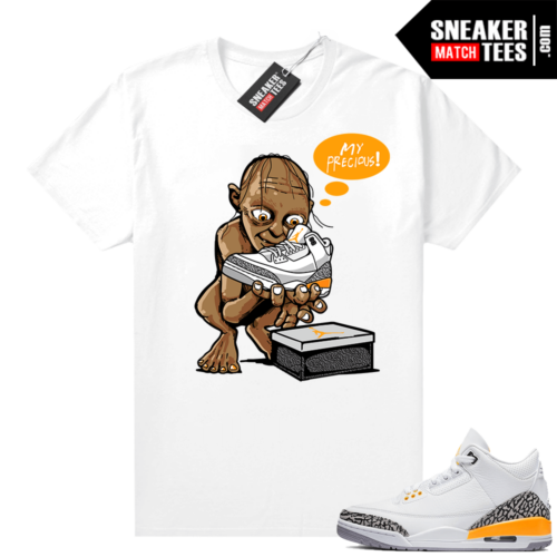 Sneaker shirts Jordan 3 Laser Orange