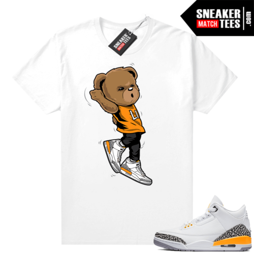 Laser Orange 3s matching shirts