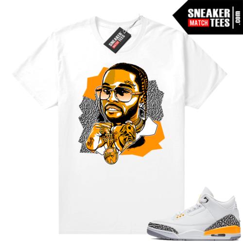 Laser Orange 3s sneaker outfits