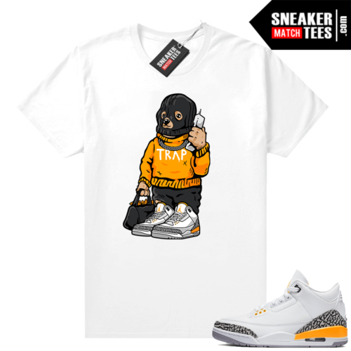 Laser Orange 3s shirt outfit