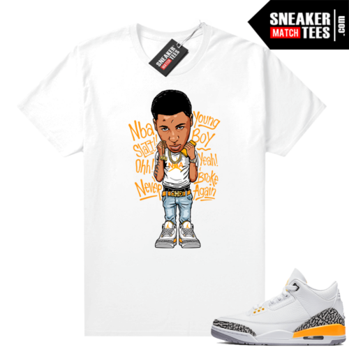 Laser Orange 3s matching shirt