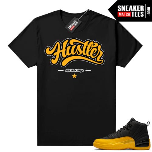 Air Jordan University Gold 12s match shirts