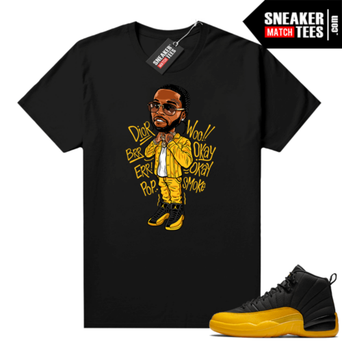 Sneaker shirts Gary Payton 12s