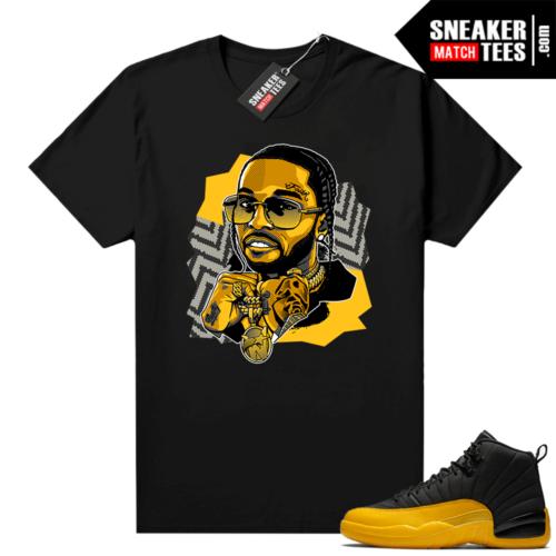 T shirt to match University Gold 12s