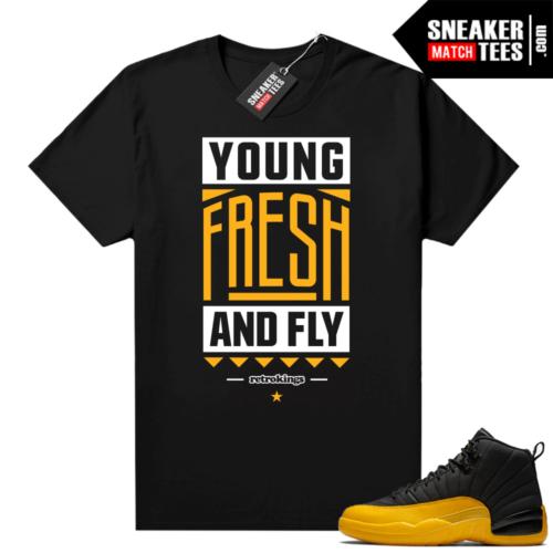 Black Gold Jordan match shirts
