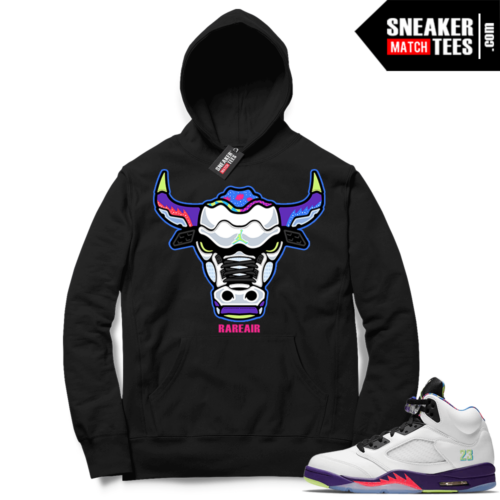 Alternate Bel Air 5s sneaker Hoodies