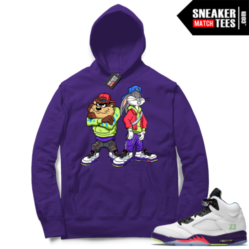 Alternate Bel Air 5s match Hoodies