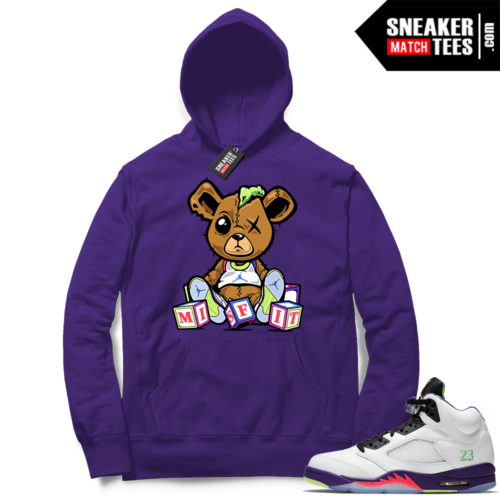 Alternate Bel Air 5s Hoodie outfit