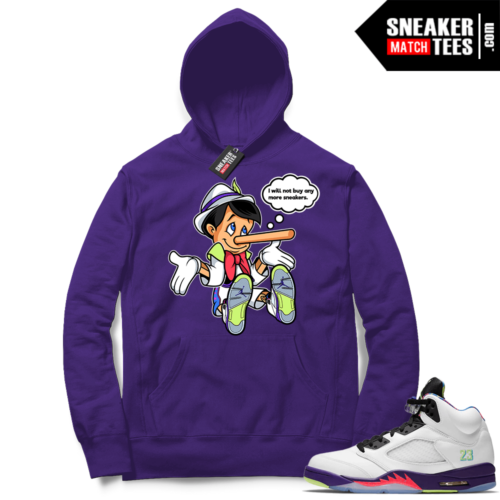 Alternate Bel Air 5s Hoodie to match