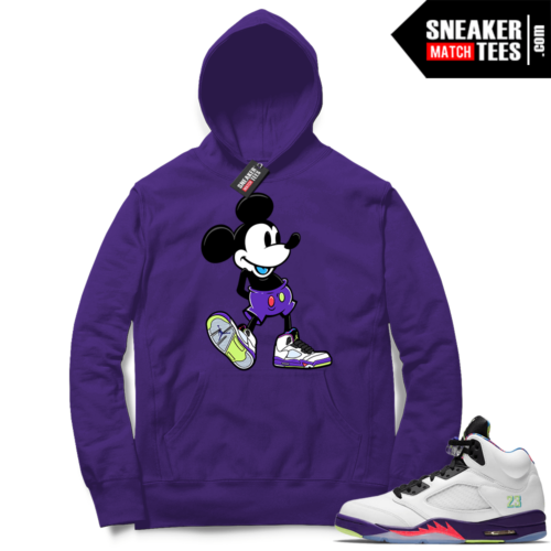 Match Alternate Bel Air 5s Hoodie