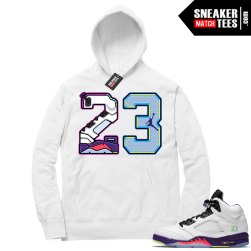 Jordan 5 Alternate Bel Air Hoodie