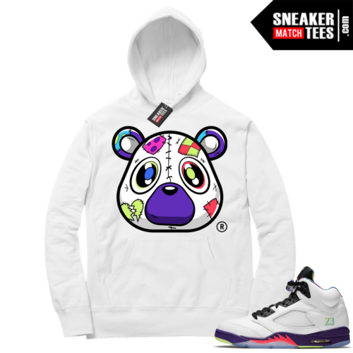 Jordan 5 Alternate Bel Air Matching Hoodie