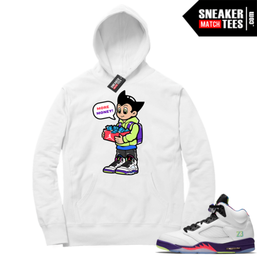 Sneaker Match Jordan 5 Alternate Bel Air Hoodie